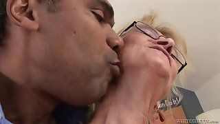 granny likes black cock in her fuckin' pussy