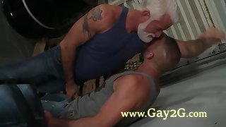 two ultra hot gay love deep anus pounding