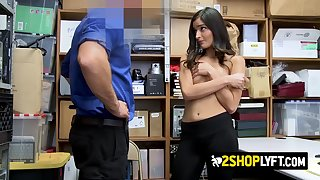 emily is coerced by horny officer into getting her coochie screwed
