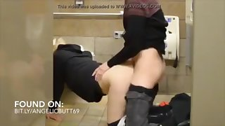 blowjob in toilet