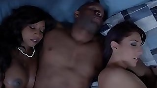 Black housewife and friend jizm swapping